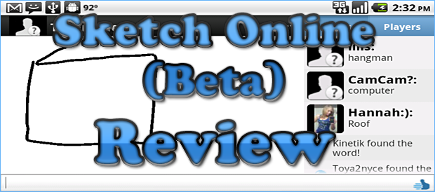 Sketch Online Beta Review Droid Gamers