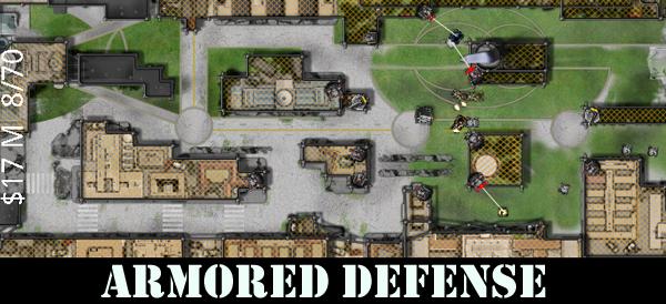 Armored Defense banner