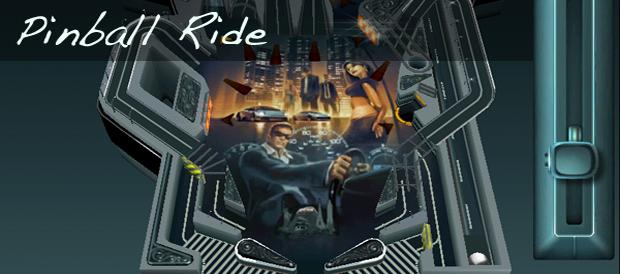 Pinball Ride banner