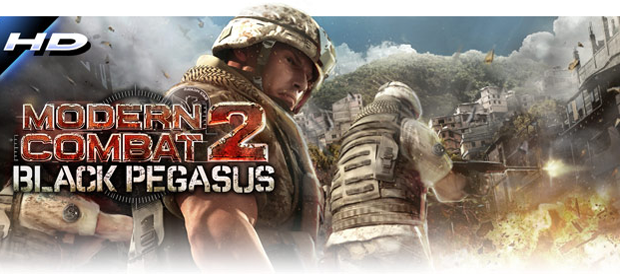 Modern Combat 2: Black Pegasus is now available for Android