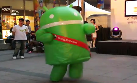 dancing-android-robot