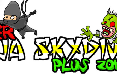 super-ninja-skydiving-zombie-android-game