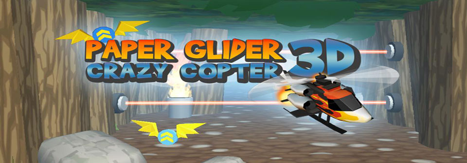 Paper-Glider-Crazy-Copter-3D-android-game