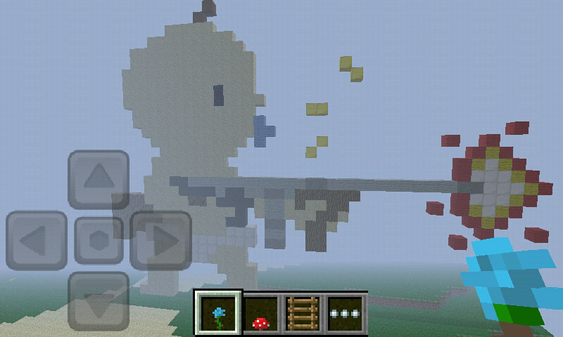 Minecraft: Pocket Edition Review: Build big things while on