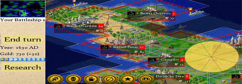 New port of open source FreeCiv game now available for