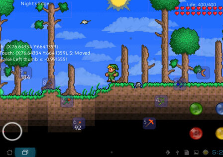 Terraria Android game 1