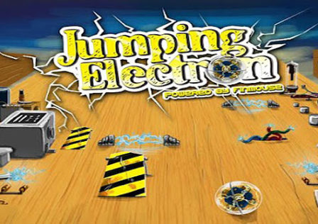 Jumping-electron-android-game