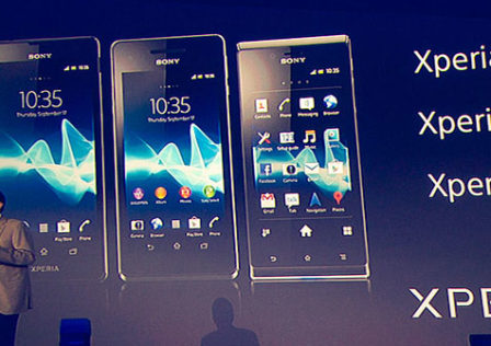 New-Sony-Xperia-Android-phones