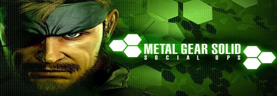 Konami's Metal Gear Solid: Social Ops hits Google Play