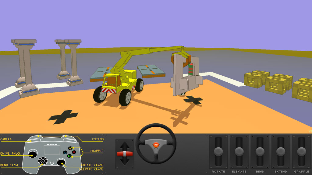 Popular crane simulation game The Little Crane That Could is