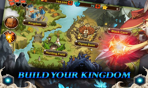 Gamevil releases their new Action-RPG called Kingdom