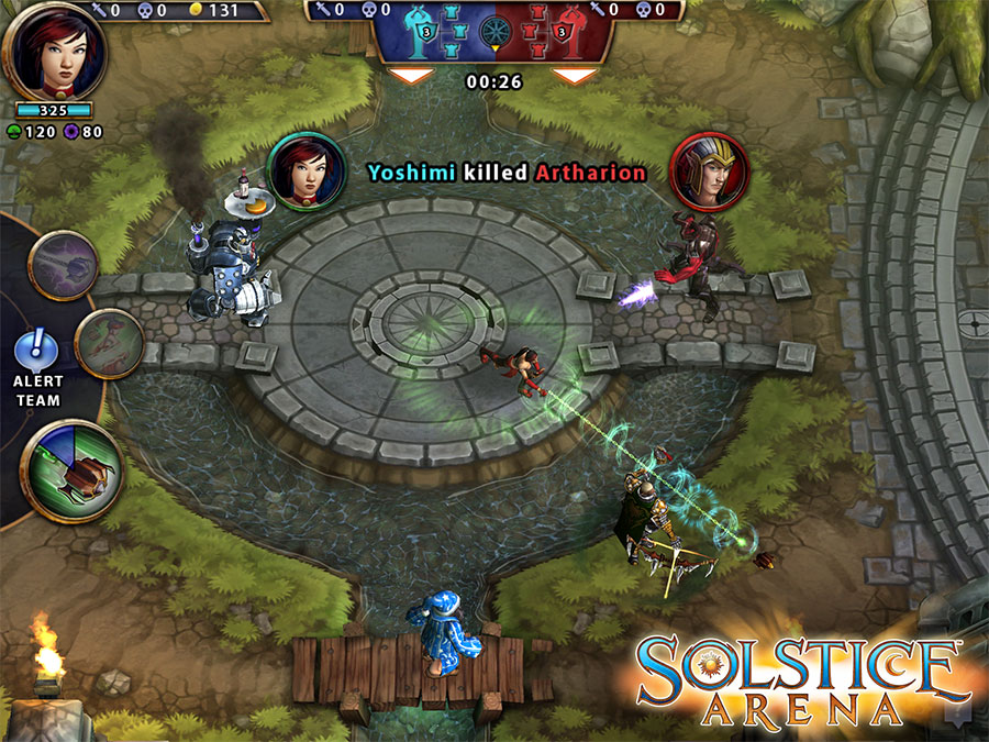 Check out Zynga's upcoming MOBA game Solstice Arena gameplay