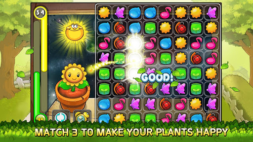 Gamevil releases Smile Plants, a match-3 puzzler with growing plants