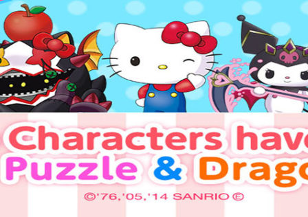 Puzzle-Dragons-Hello-Kitty-GungHo-Android