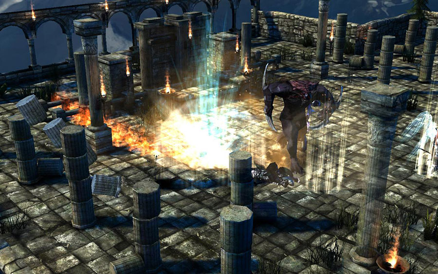 Unity Games unleashes Archangel, a new Action-RPG for