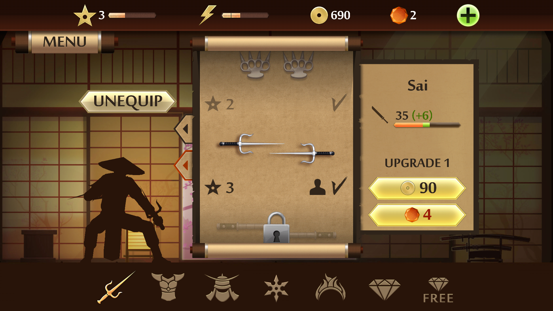 Shadow Fight 2 Review: A Potentially Great Game That Is Very Shady