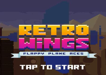 Retro-Wings-Game