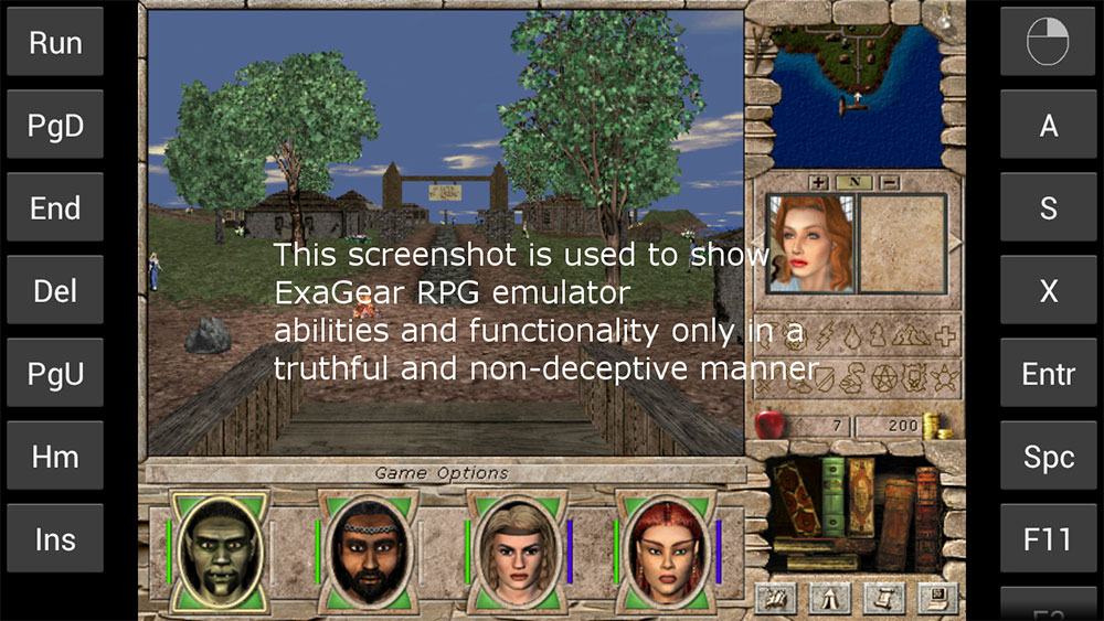 Eltechs releases ExaGear RPG, an emulator for Android to