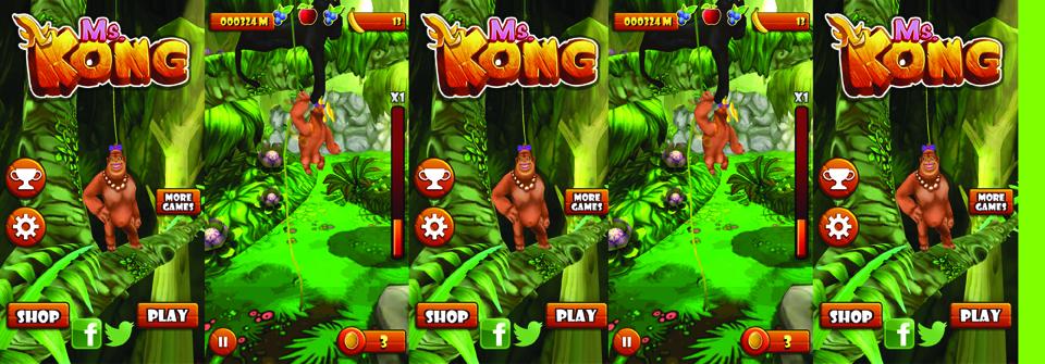Ms-Kong-Game