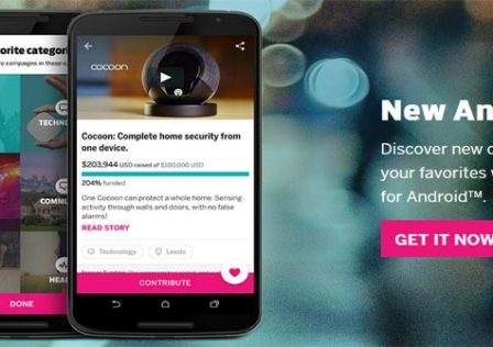 IndieGoGo-Android-App