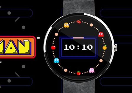 Pac-Man-Android-Wear-Watch-Face