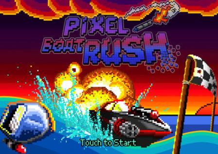 Pixel-Boat-Rush-Game