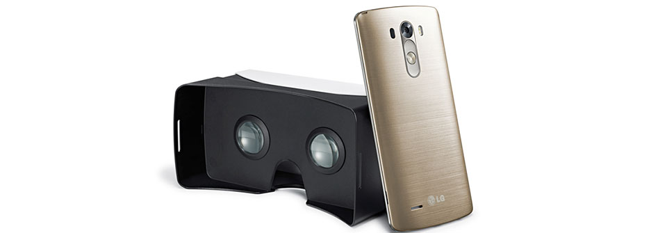 LG offers up a free VR headset for new LG G3 owners