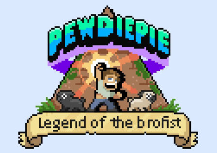 PewDiePie-Legend-of-the-Brofist-Android-Game