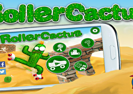 Roller-Cactus-Android-Game