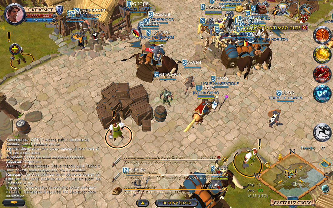 An enormous adventure that captures and simplifies exactly what makes the series special. Albion-Online-Alpha-Android-Preview-5