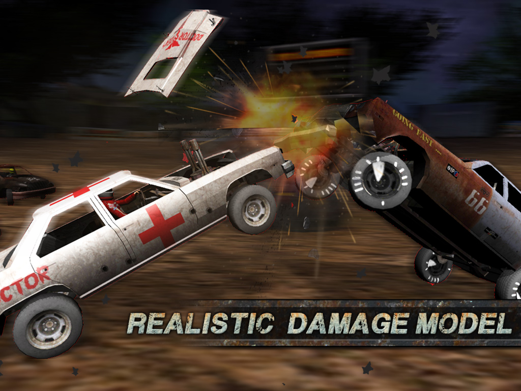 Demolition Derby - Crash Racing crashes on to Google Play - Droid Gamers