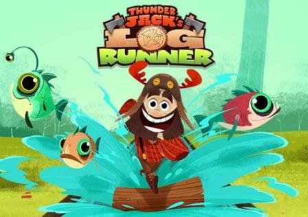 Thunder-Jacks-Log-Run-Game