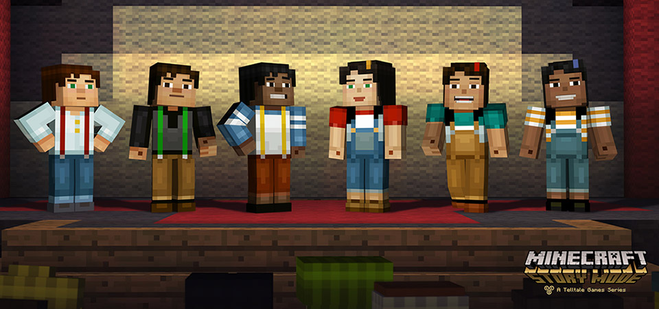 Minecraft: Story Mode для Android