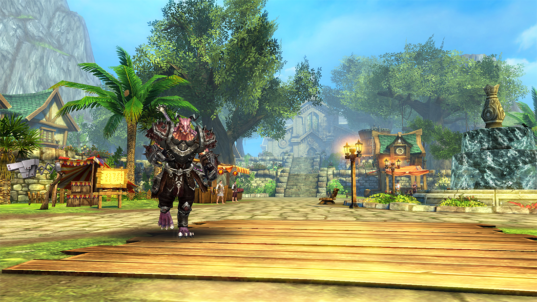 Upcoming MMORPG Order & Chaos 2: Redemption will have a new playable