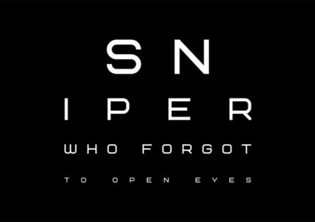 Sniper-Forgot-To-Open-Eyes-Android-Game