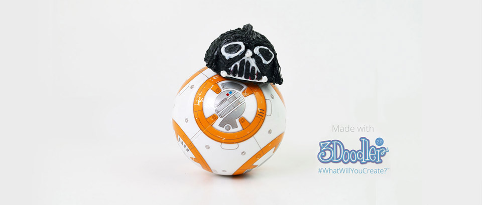 Swap out your default Sphero BB-8 head with new Star Wars