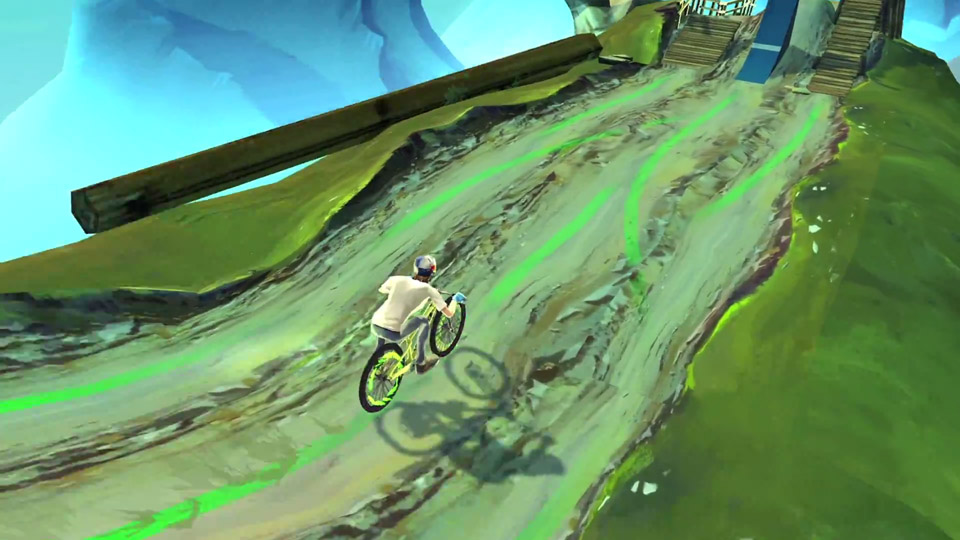 Race your way to the top in Bike Unchained, now available from