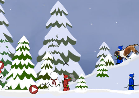 Snow-Fort-Too-Far-Android-Game