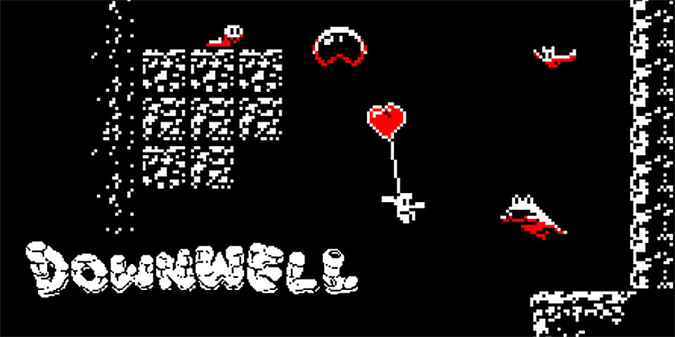 Downwell-Android-Game