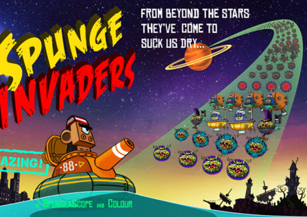 Spunge-Invaders-Android-Game