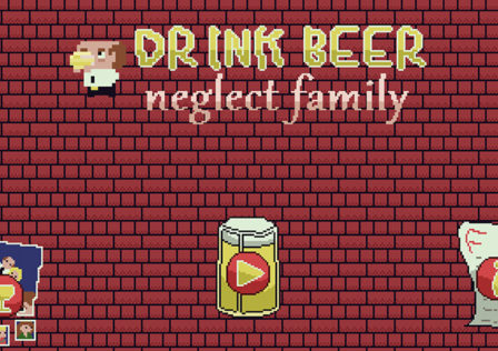 Drink-Beer-Neglect-Family-Android-Game