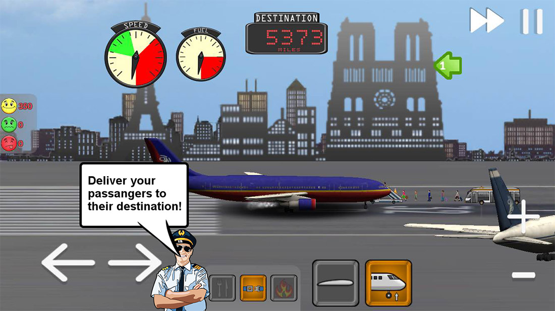 Manage your own airline in Transporter Flight Simulator, now