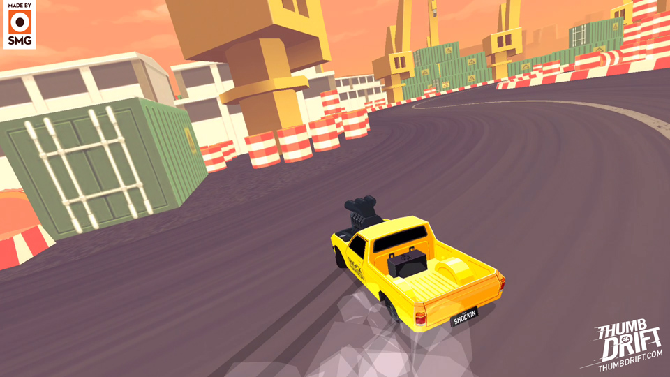 Smg Studio Brings The Dazzling And Intense Thumb Drift To Android