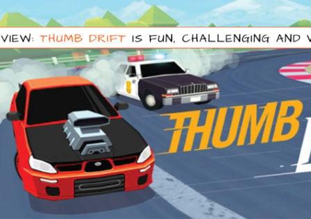 Thumb-Drift-Game