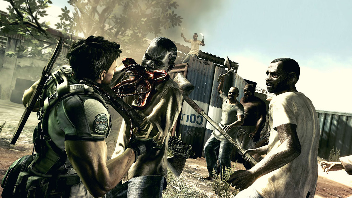 Resident Evil 5 is now available for the Nvidia Shield
