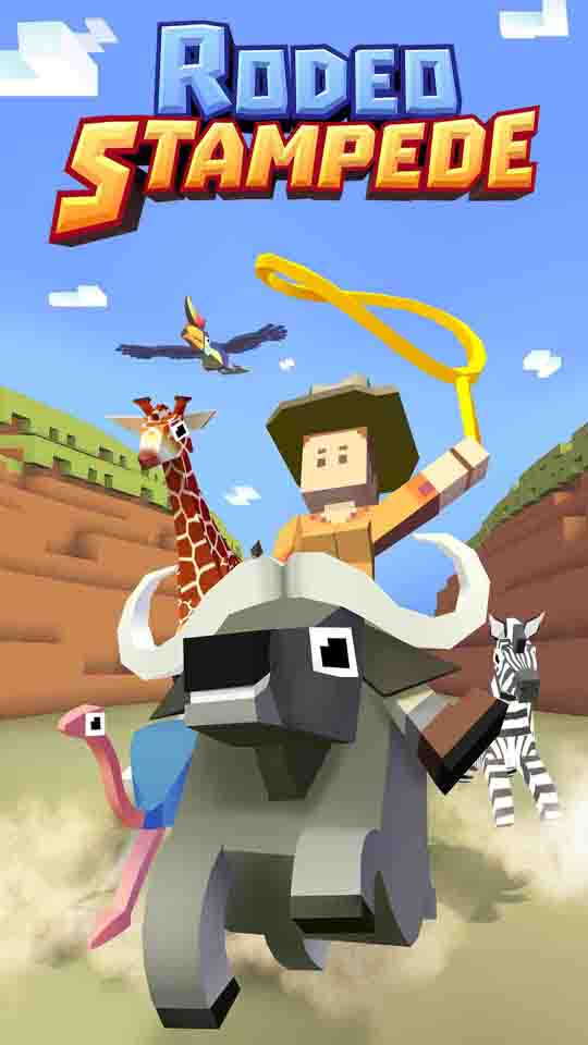 Rodeo Stampede From Publishers Of Crossy Road Comes To