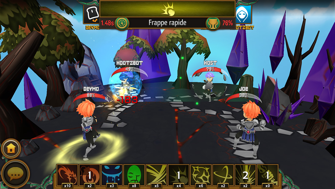 Cast spells on your opponent by drawing them on the screen in We ...
