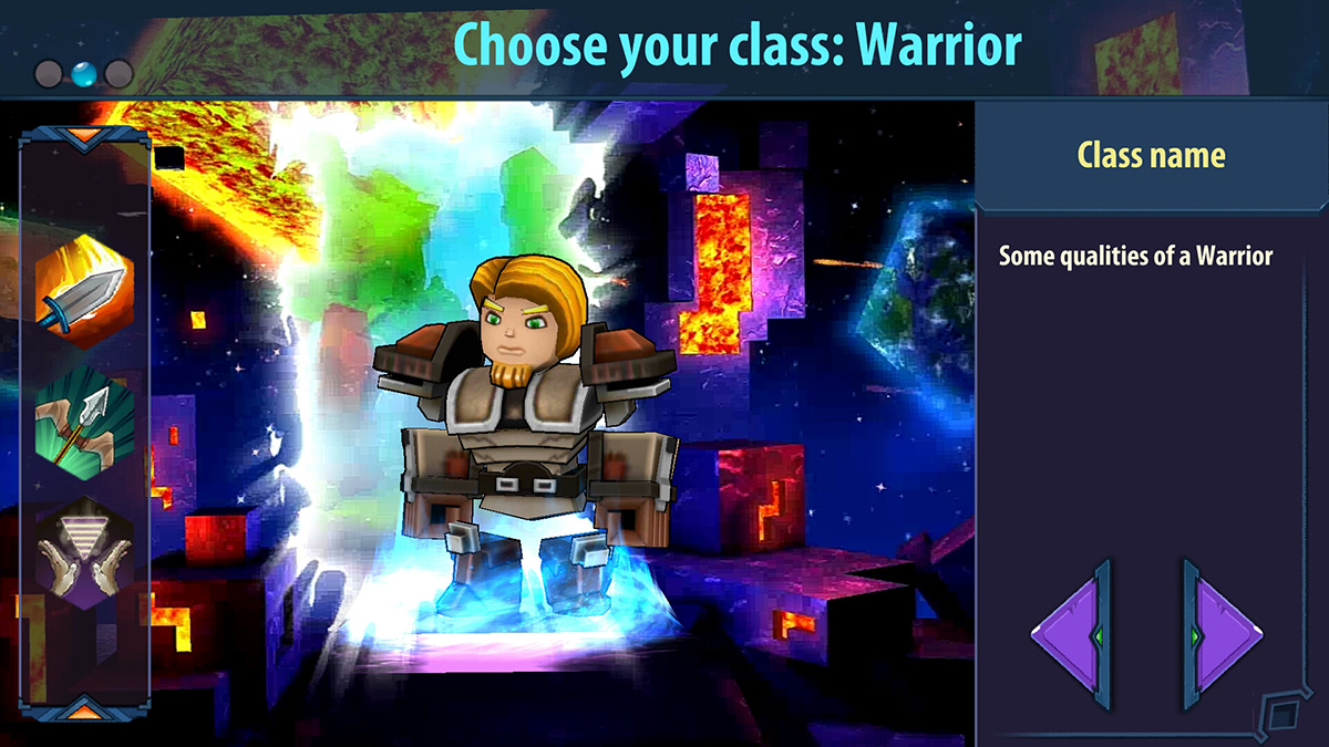 CubeMatrix: Pixel Wars is an upcoming MMORPG for Android with some