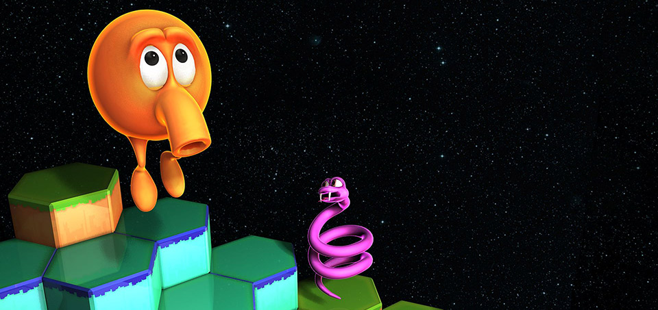 QBert-Rebooted-Android-Shield-Game