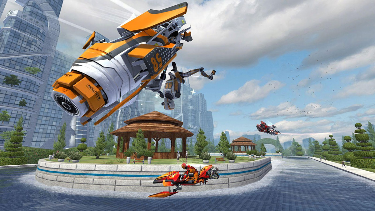 Vector Unit's Riptide GP: Renegade is now available for non
